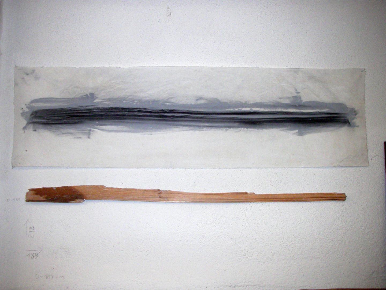 O-185 >Holz, Form-Struktur< (2-teilig)